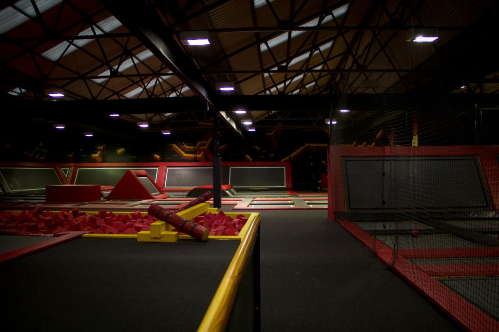 Cardiff trampoline park