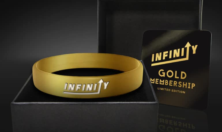 Limited Gold Memberships Bands - Sold Out in Double Quick Time